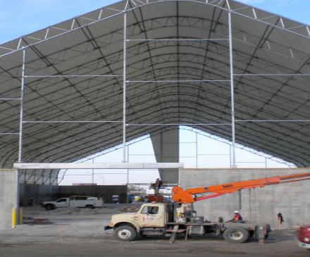 Salt Tent Maintenance Facility