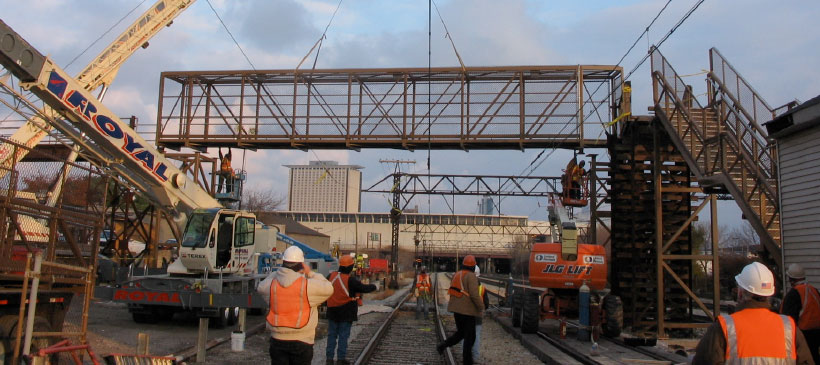 27th Street Metra Pedestrian Bridge Replacement