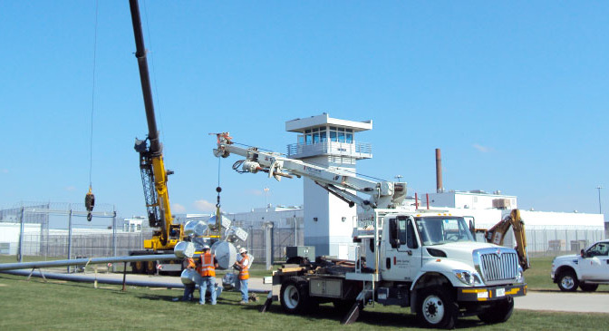 Statesville Prison High Mast Tower Replacement