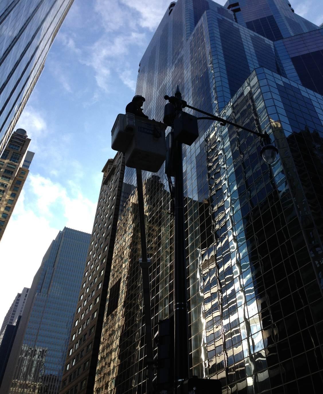 Chicago Lighting Company: AT&T DAS Installation