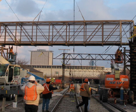 27th Street Metra Pedestrian Bridge Replacement