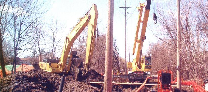 Naperville – Electrical Duct Bank & Force Main